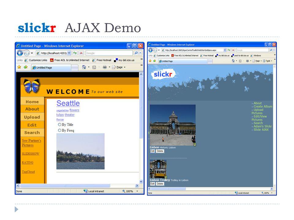 slickr AJAX Demo