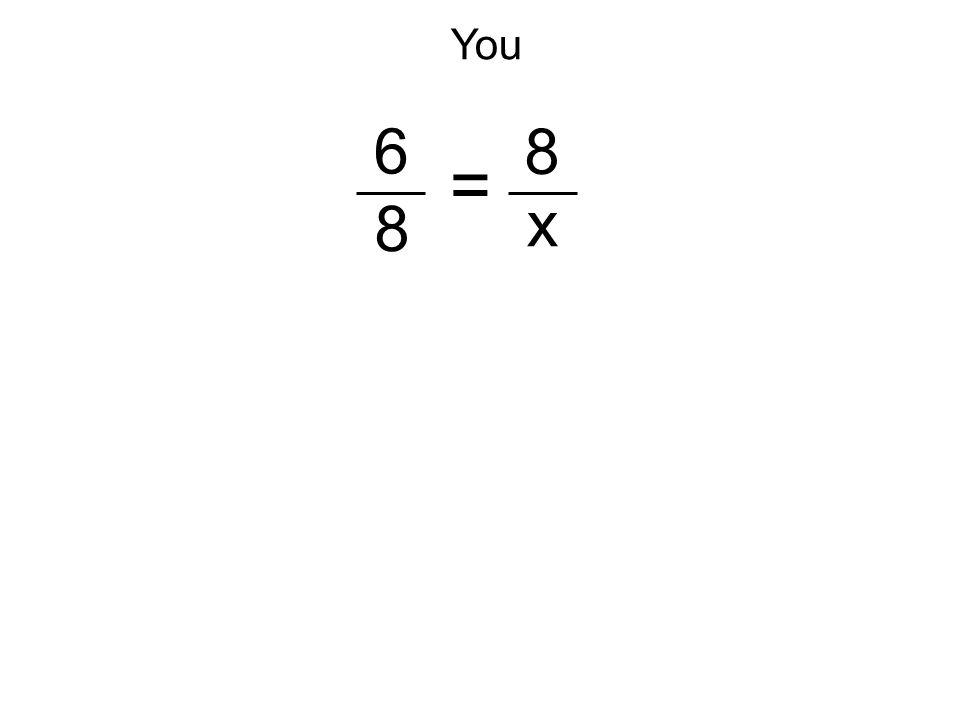 6 8 8 x =