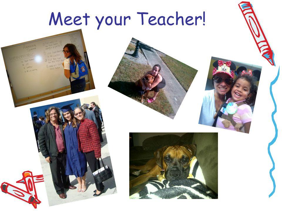 Meet your Teacher!