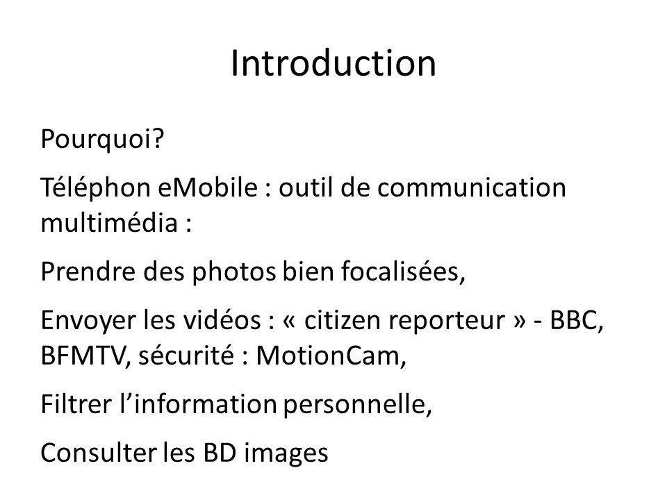 Introduction Pourquoi.