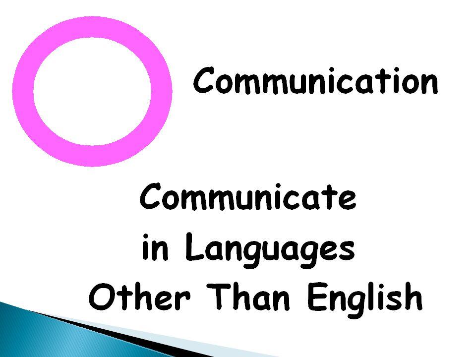 Connections Comparisons Communities Cultures Communication