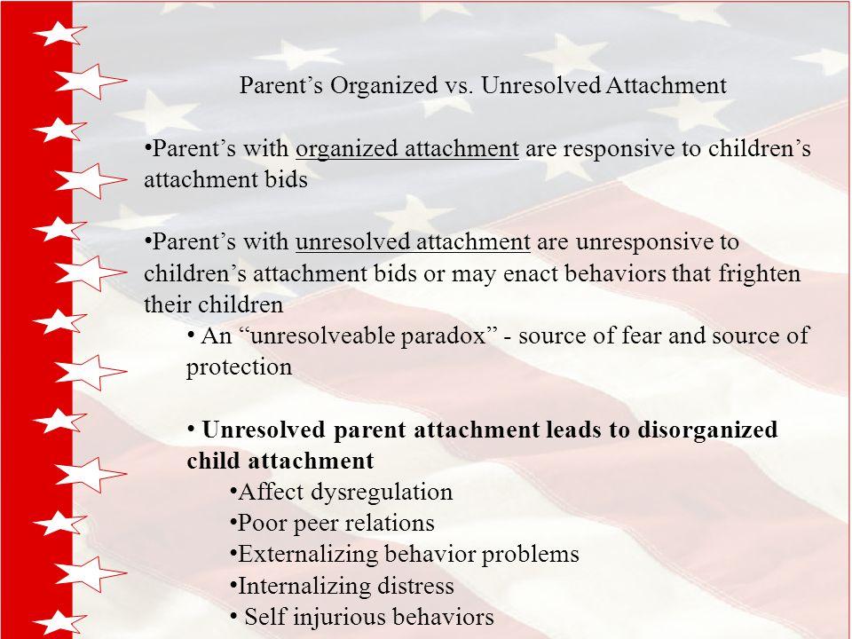 Parent's Organized vs.