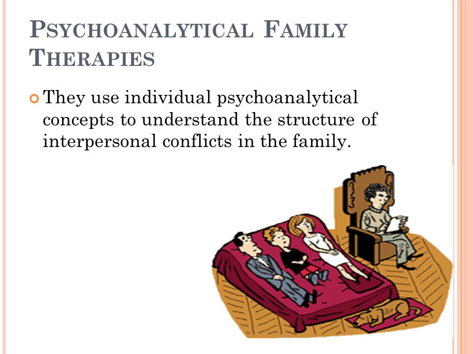 7 They take into account parents' unresolved psychological conflicts' projection on their child, who bears them passively.