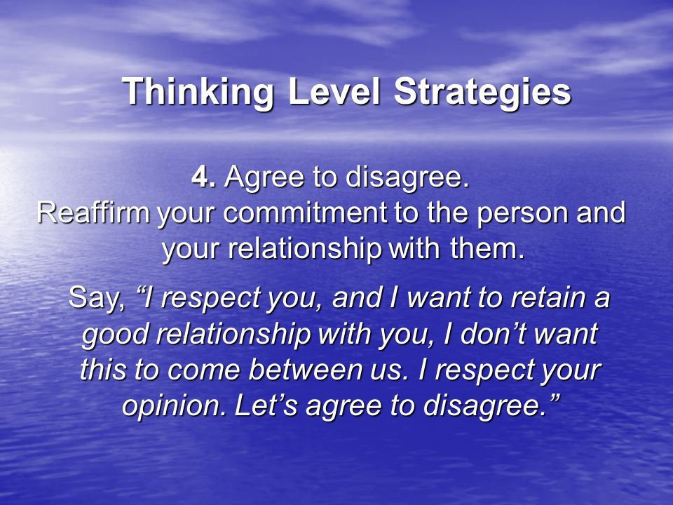 Thinking Level Strategies Thinking Level Strategies 4.
