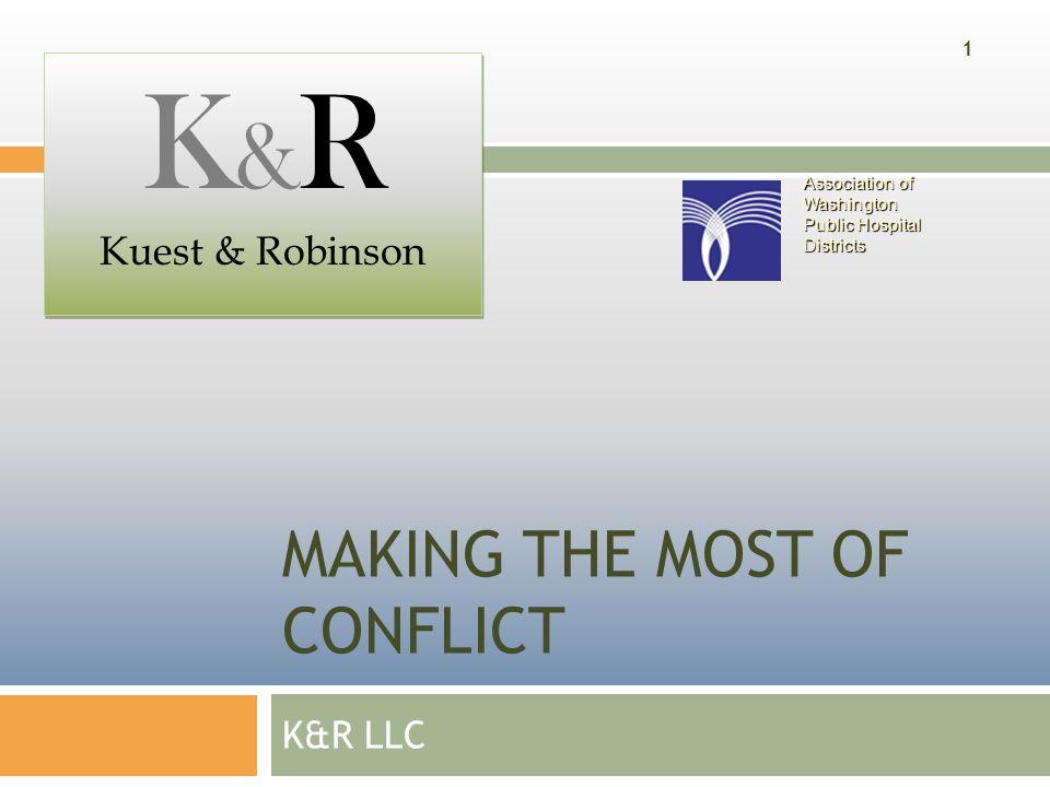 Kuest&Robinson LLC  Background:  Ron Kuest, Principal rdkuest@comcast.net (360)280-1513  Lloyd Robinson, Principal robinson2002wa@aol.com (206)406-4604 2 Association of Washington Public Hospital Districts