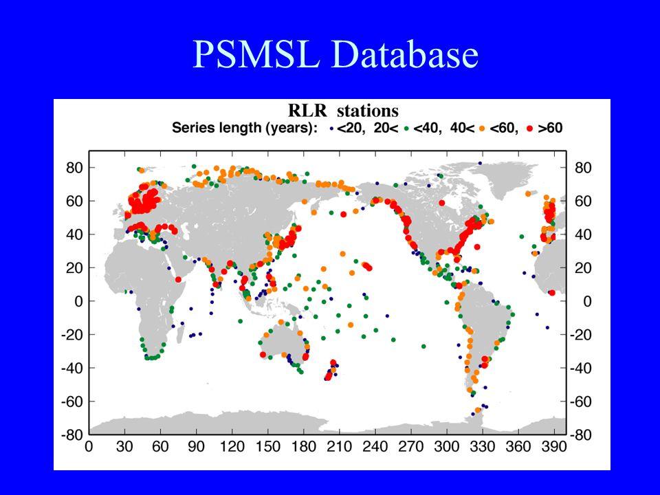 PSMSL Database