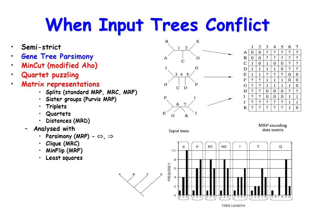 MRP Tree 1 Tree 2 Fecampiida 111 111111 1111??11??111 Neodermata ??.