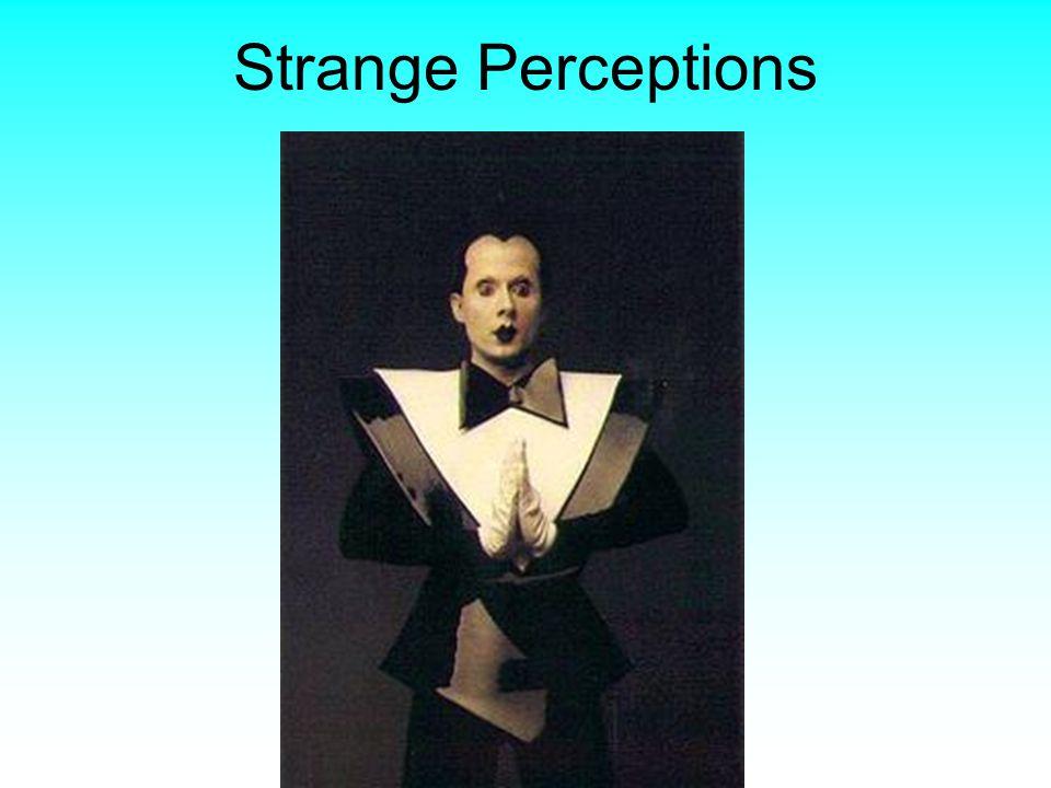 Strange Perceptions