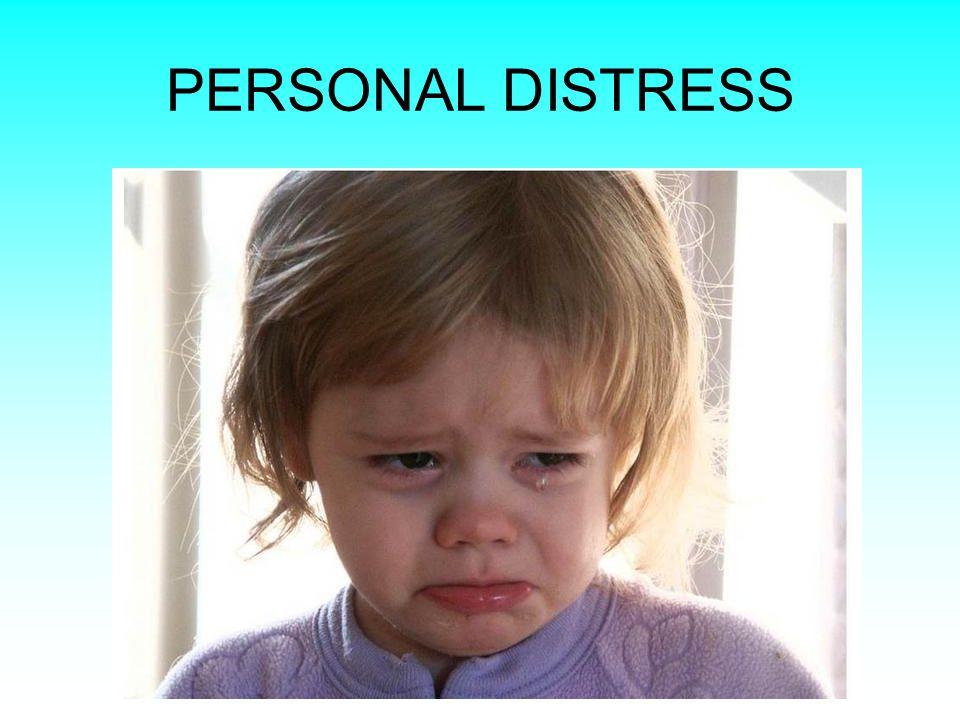 PERSONAL DISTRESS