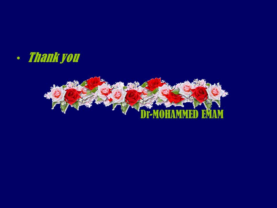 Dr-MOHAMMED EMAM Thank you