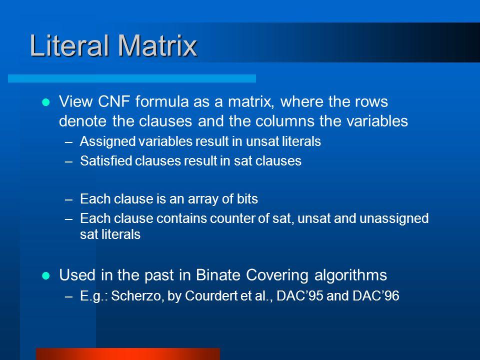 Matrix vs.