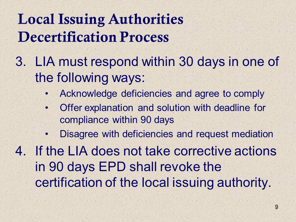 20 Environmental Protection Division Role in E&SC in Georgia Selective enforcement Certification/De-certification of Local Issuing Authorities Complaint Resolution District Offices throughout the state respond to complaints and assist with state waters determination