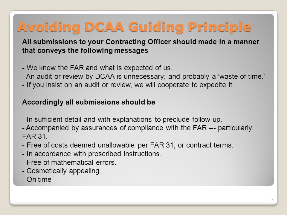 Avoiding DCAA Guiding Principle (continued) Assurances M&M's annual Cost Allocations Plans for fiscal years ended 31 December 20X6 (actual), 20X7 (actual), 20X8 (actual), and 20X9 (budget) are summarized in the attached Excel electronic working paper.
