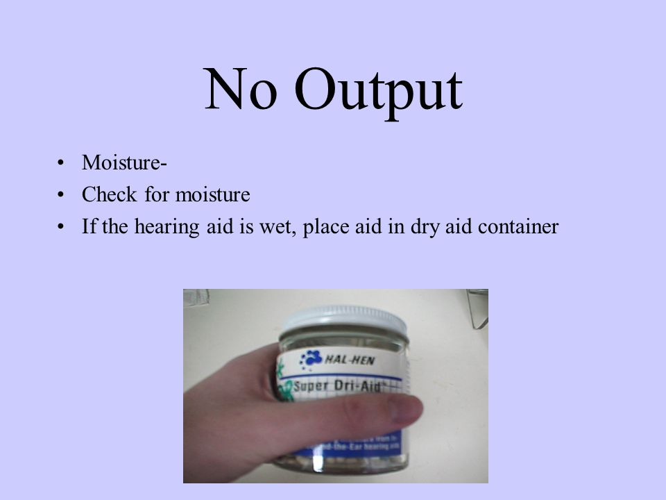 No Output Tubing- Make sure that tubing is not collapsed or clogged.