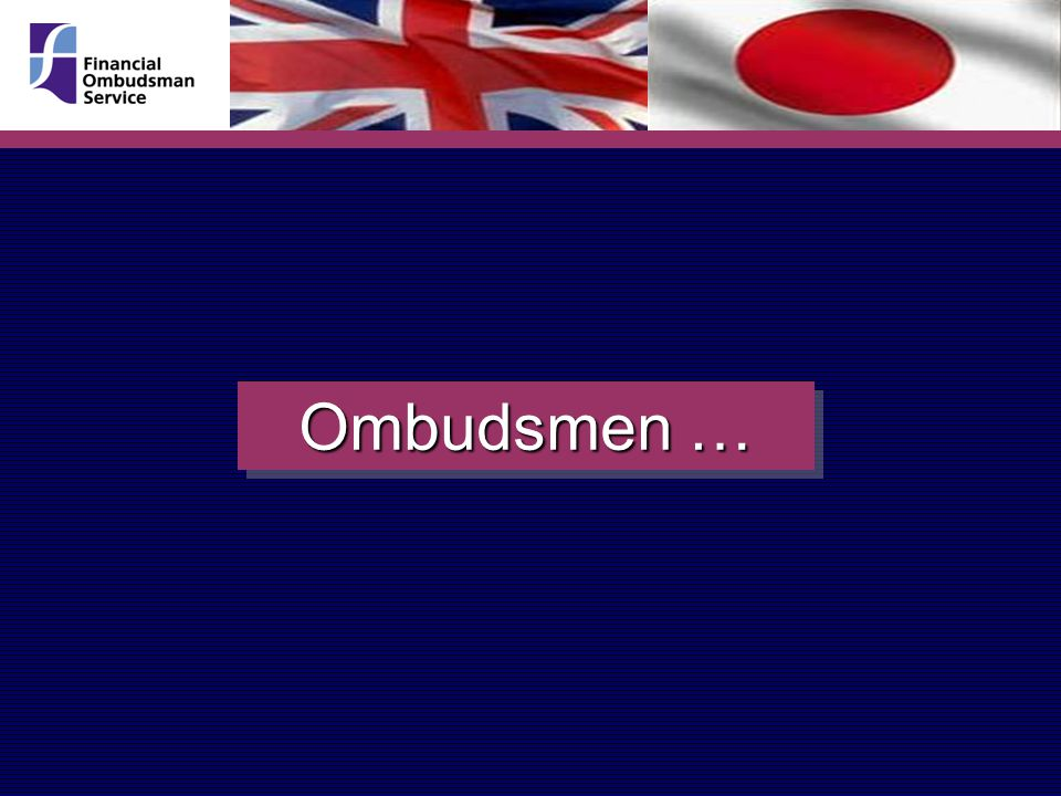 Ombudsmen …