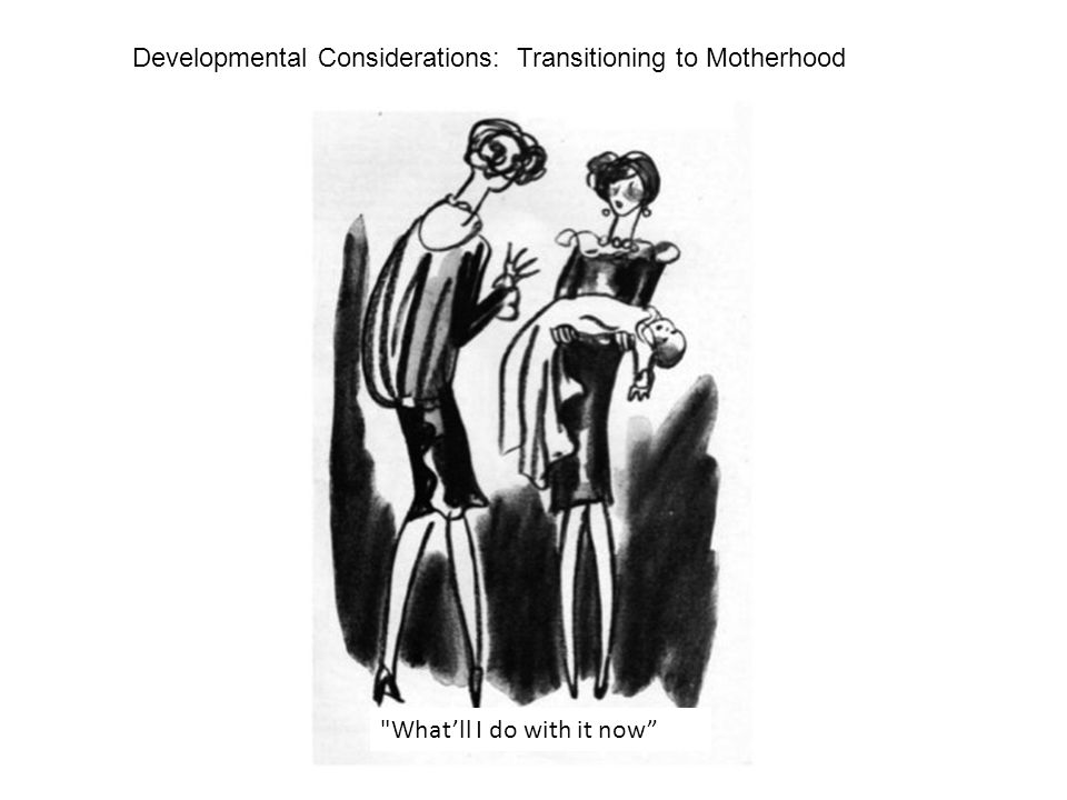 Developmental Considerations: Transitioning to Motherhood