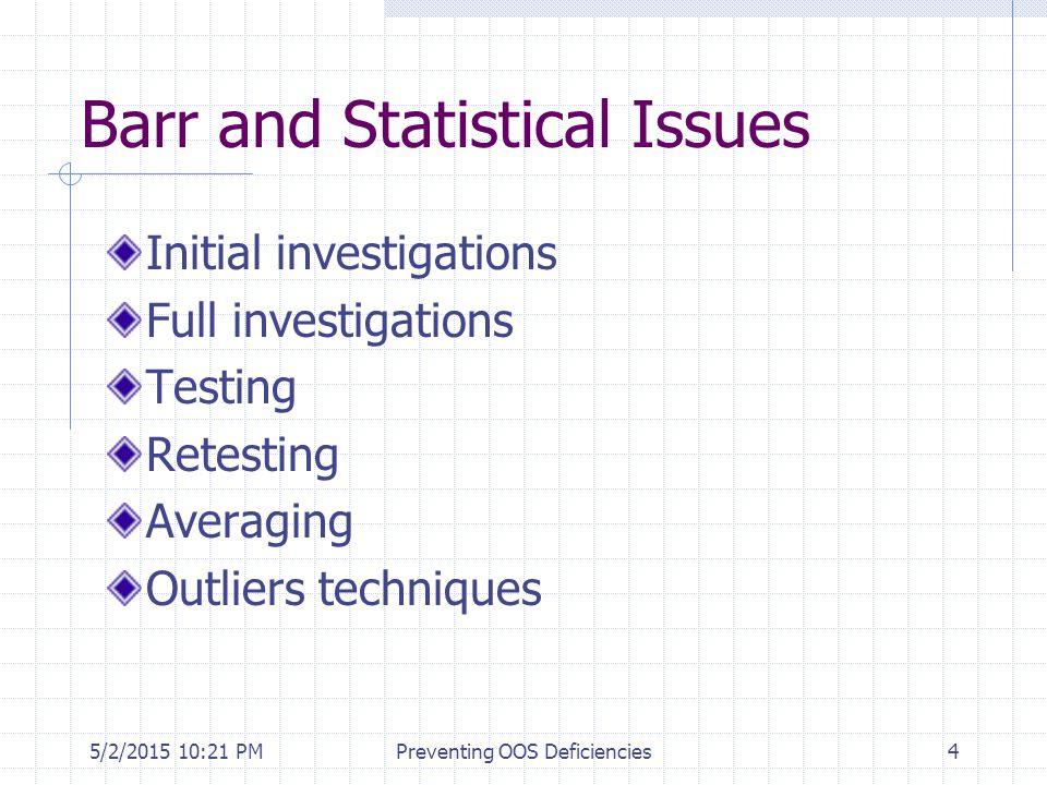 5/2/2015 10:35 PMPreventing OOS Deficiencies65 References 1.