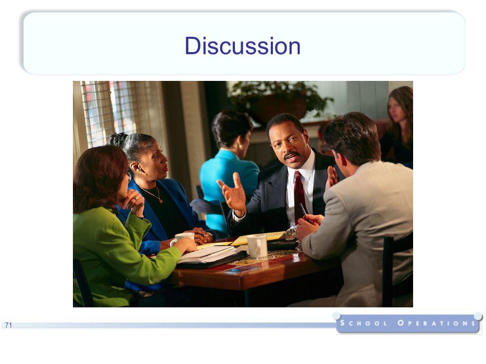 71 Discussion