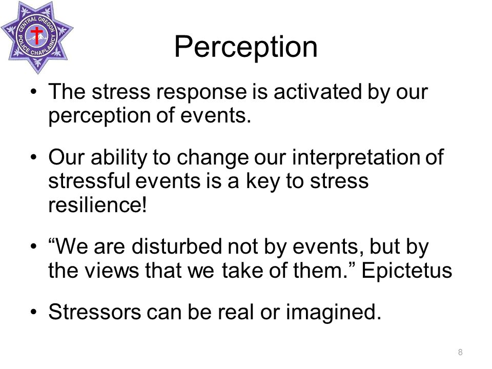 Factors that Contribute to Stress Suddenness – surprise causes more stress.