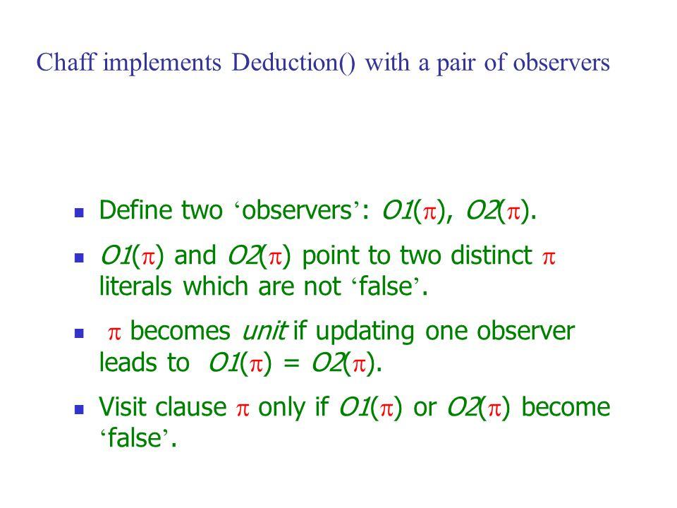 Define two ' observers ' : O1(  ), O2(  ).