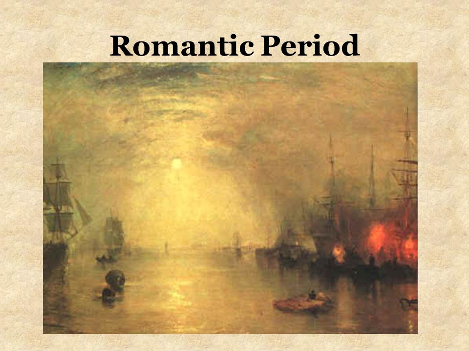 Principles of the Romantic Era Restriction no longer important Emphasis on emotion rather than reason Nationalism Stories depicted Nature in a mystical way Exotic