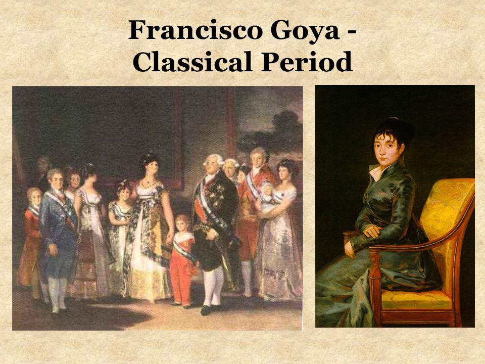 Francisco Goya - Classical Period