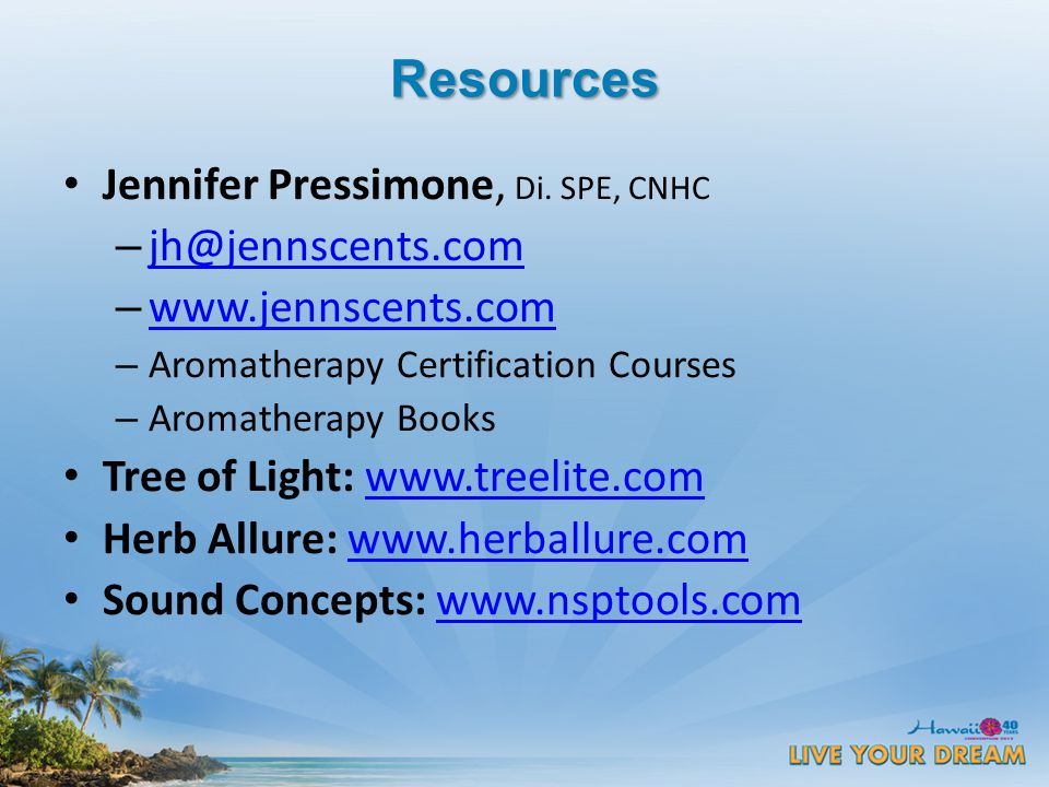 Resources Jennifer Pressimone, Di.