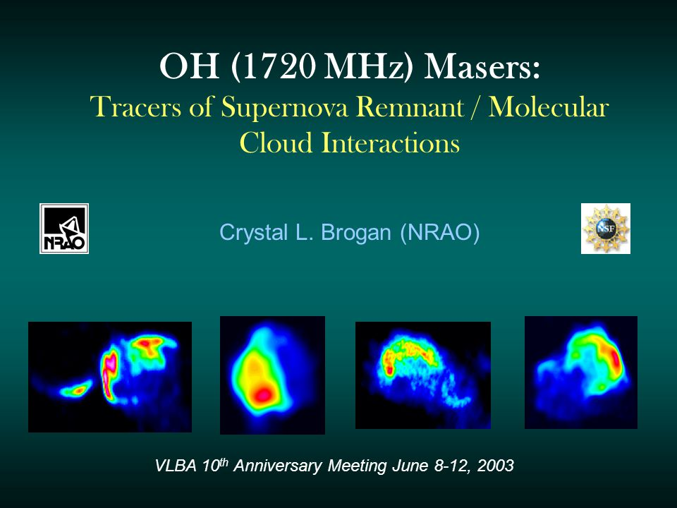 The Search for SNR/ Molecular Cloud Interactions SNRs are one of the most energetically important constituents of the Galactic medium - Input of mechanical energy (turbulence) - Responsible for cosmic rays up to 10 14 eV - Possibly trigger new generations of star formation => We need a better tracer.