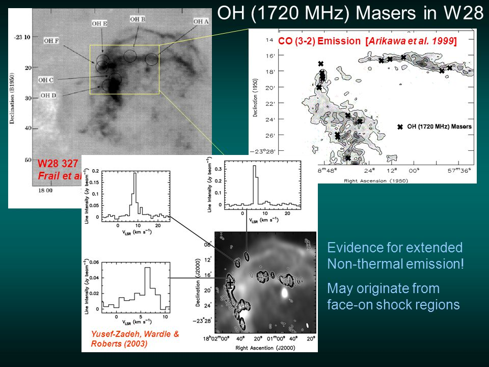 Zeeman magnetic field strengths from the VLA are ~ 0.2 – 0.9 mG Claussen et al.