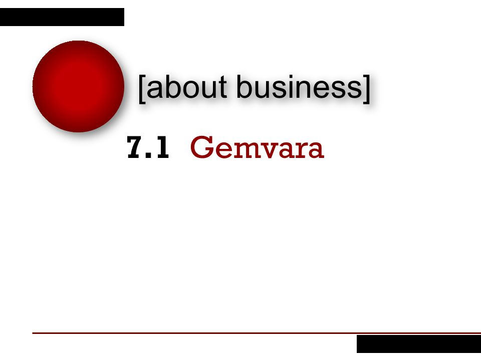 [about business] Gemvara7.1