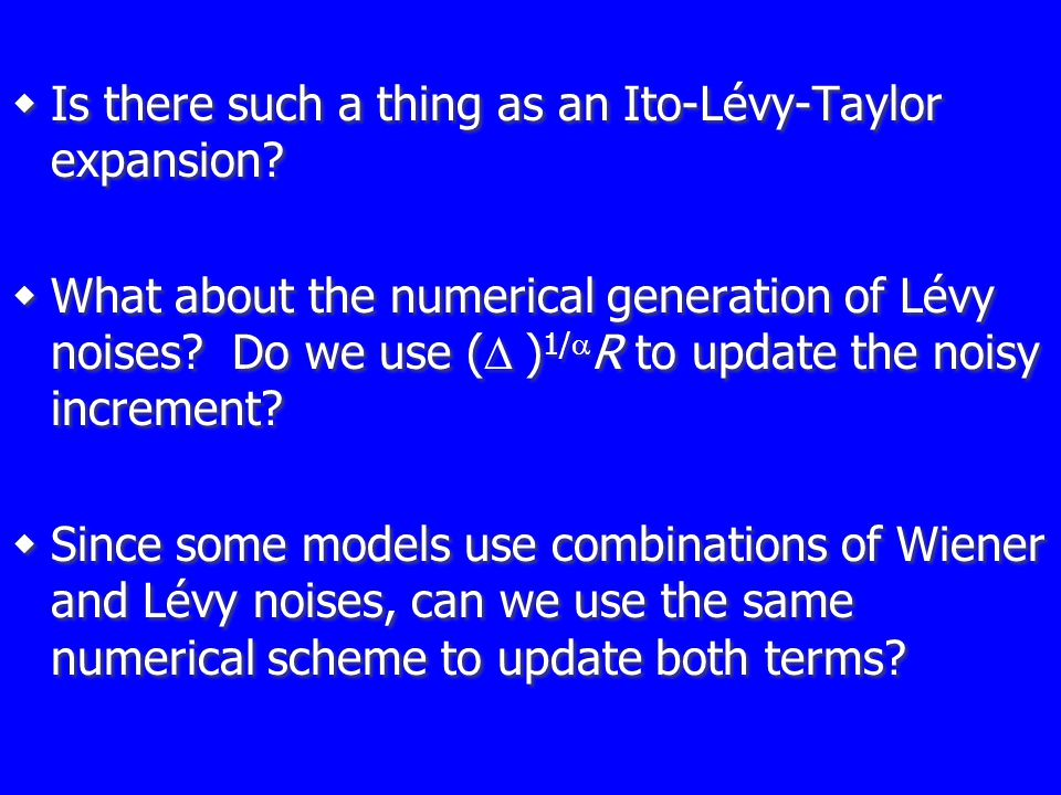  Is there such a thing as an Ito-Lévy-Taylor expansion.