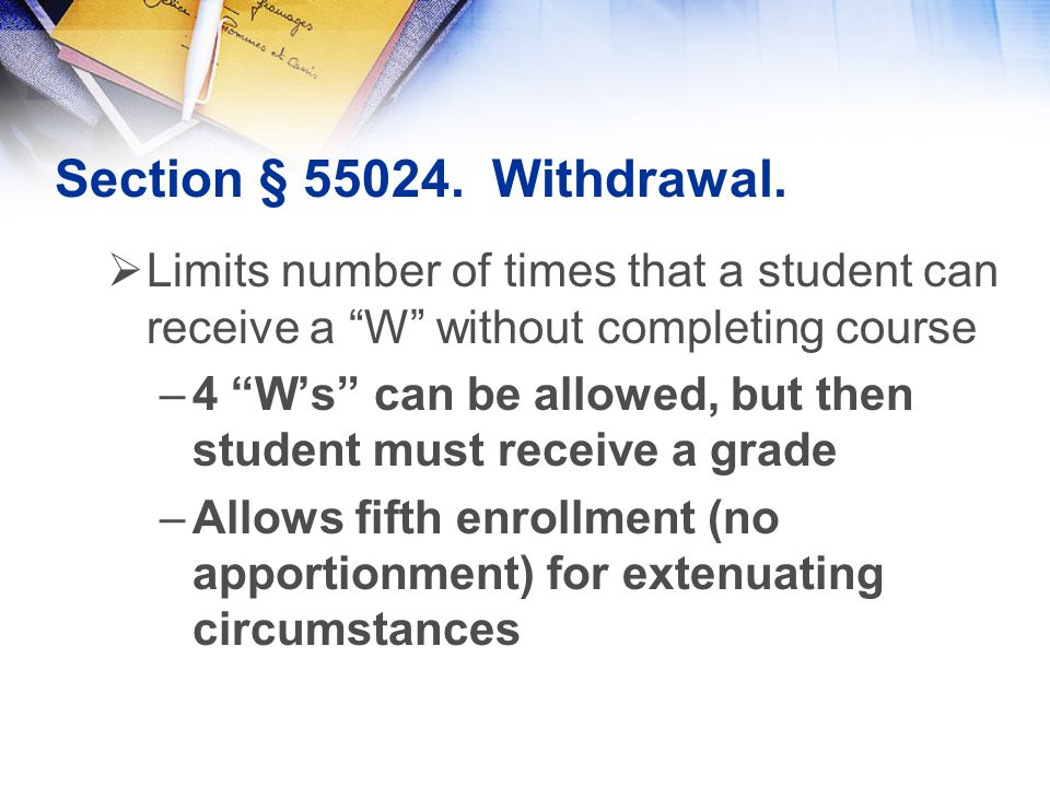 Section § 55024. Withdrawal.