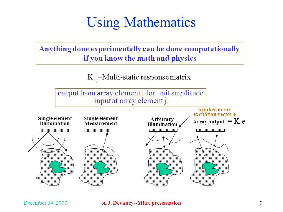 December 04, 2000A.J. Devaney--Mitre presentation28