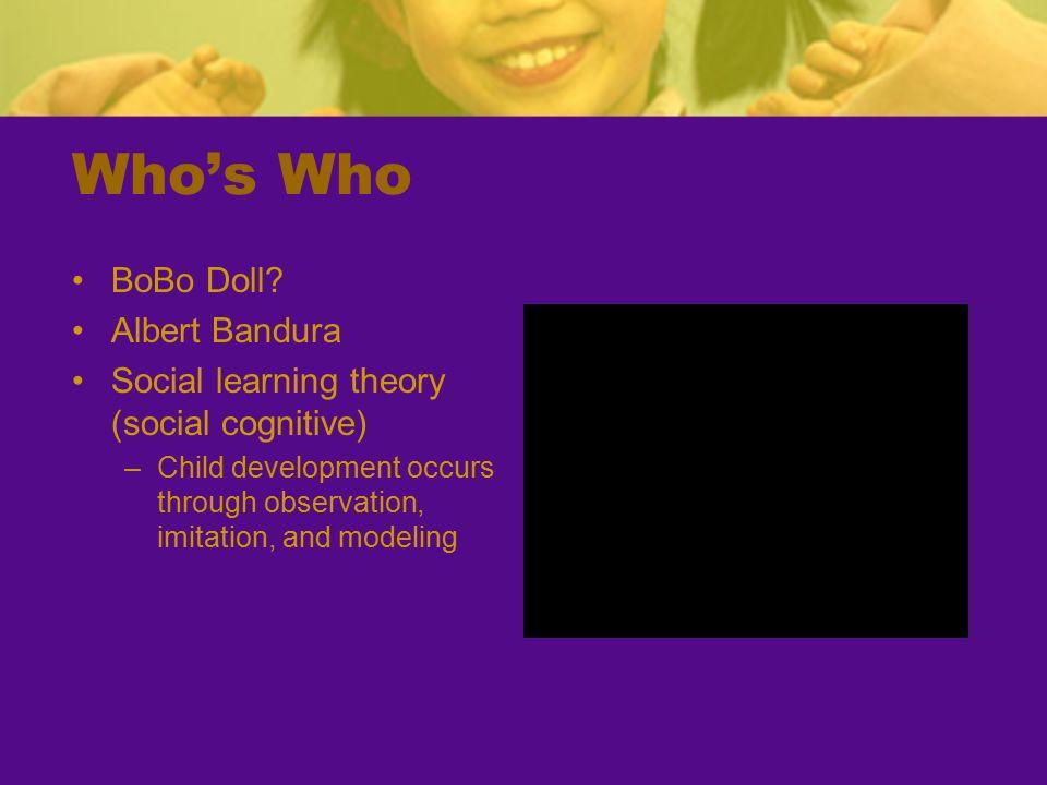 Who's Who BoBo Doll.