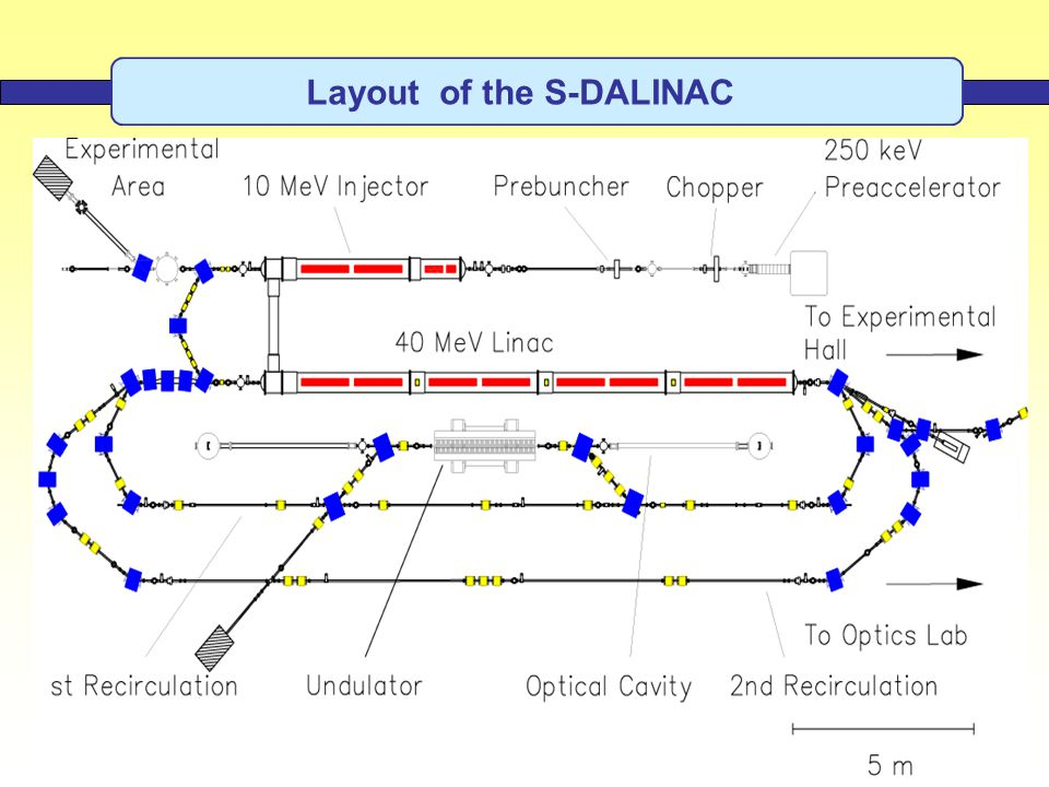 Layout of the S-DALINAC