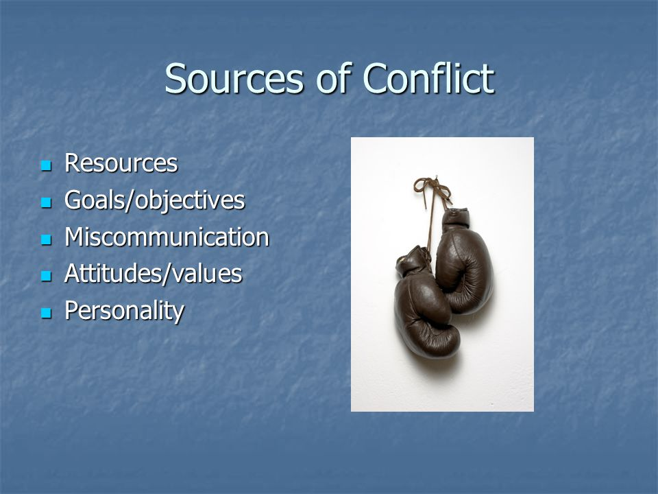 WHY WE AVOID CONFLICT ?.