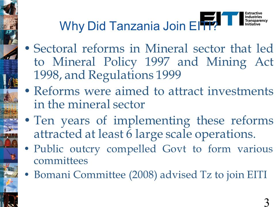 EITI and What it Entails 4