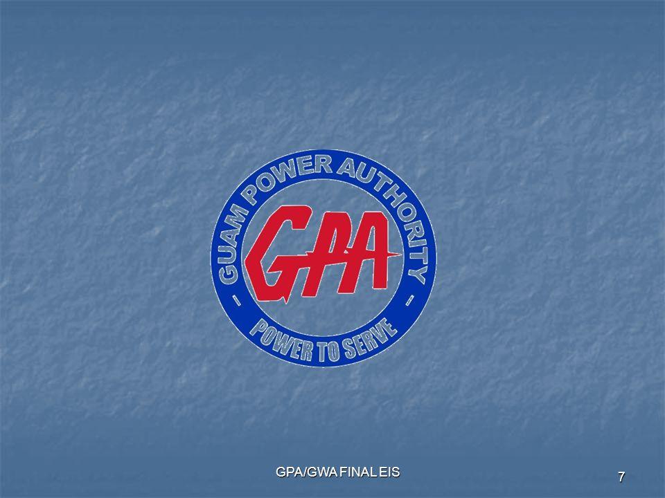 GPA/GWA FINAL EIS 7