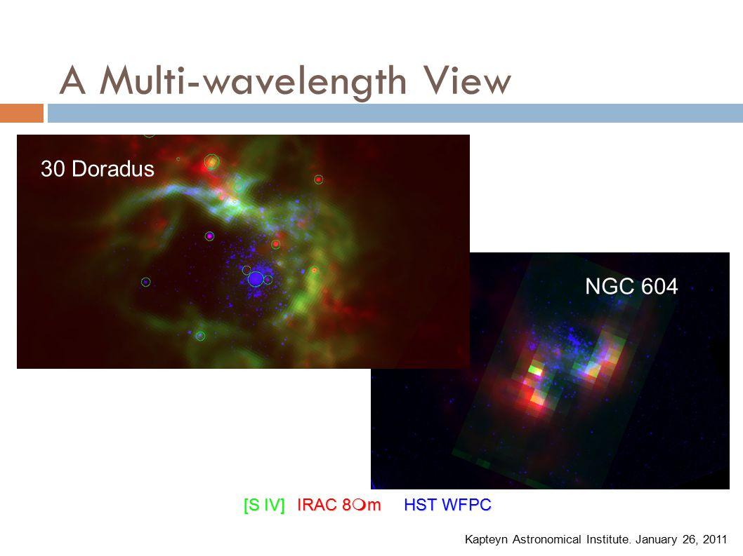 A Multi-wavelength View [S IV]IRAC 8  mHST WFPC Kapteyn Astronomical Institute.