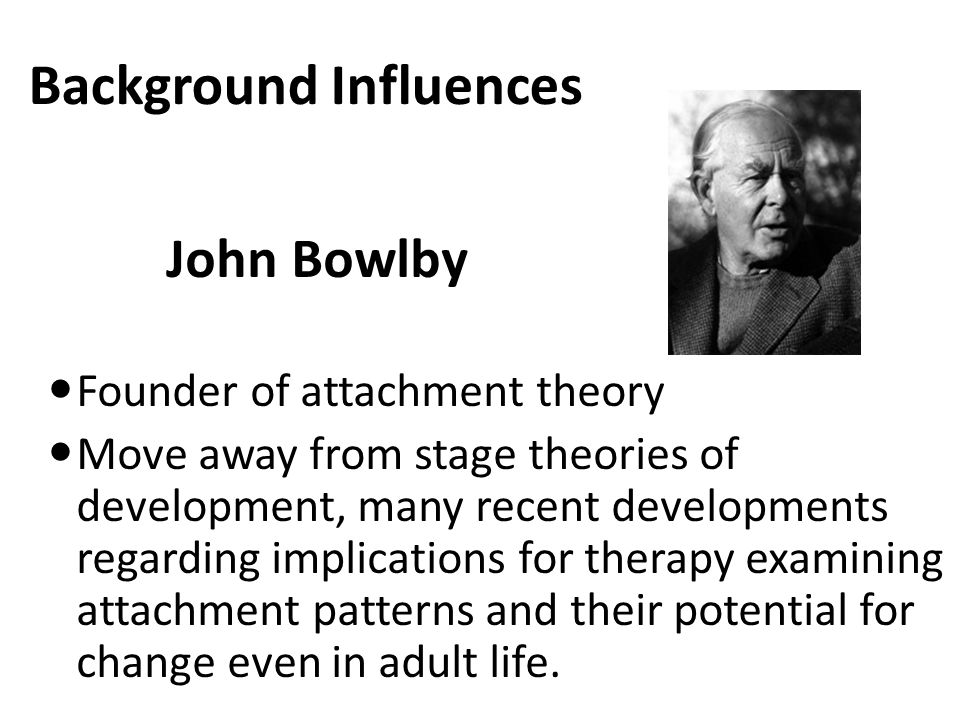 Background Influences We can't usually prevent stressors in the form of life events and chronic difficulties form occurring.