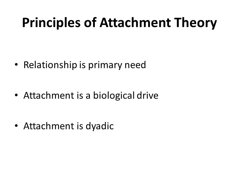 Definition of Attachment The propensity of human beings to make strong affectional bonds to particular others throughout the life- cycle (Bowlby, 1977) It is a primary motivational system with its own workings and interface with other motivational systems (Bowlby, 1973)