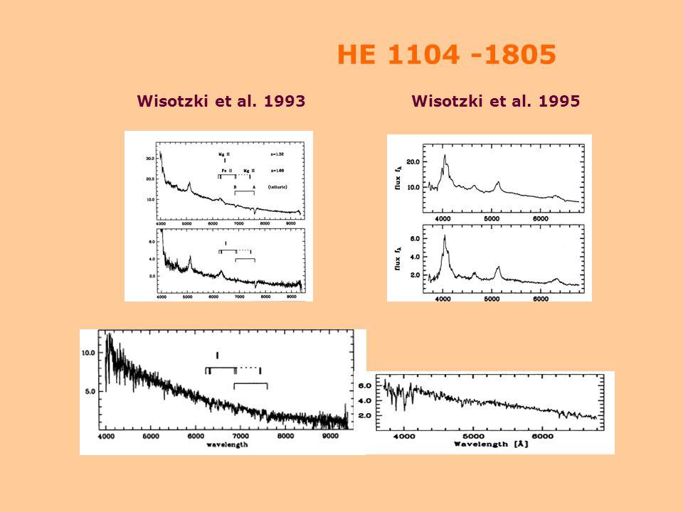 QSO spectra (SBS 0909+531) Angonin et al. 1990
