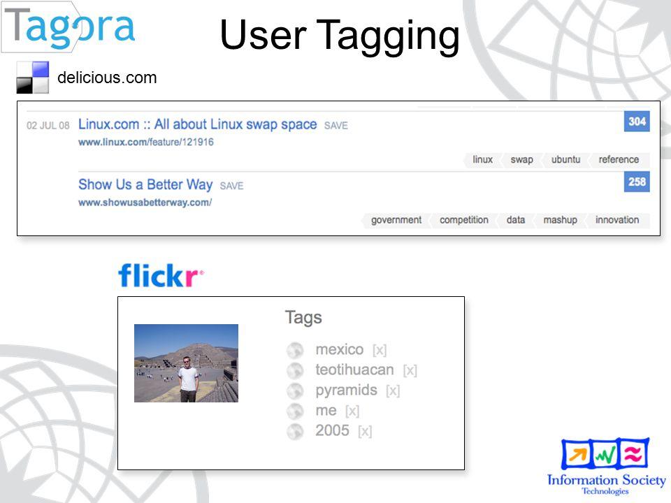 User Tagging delicious.com