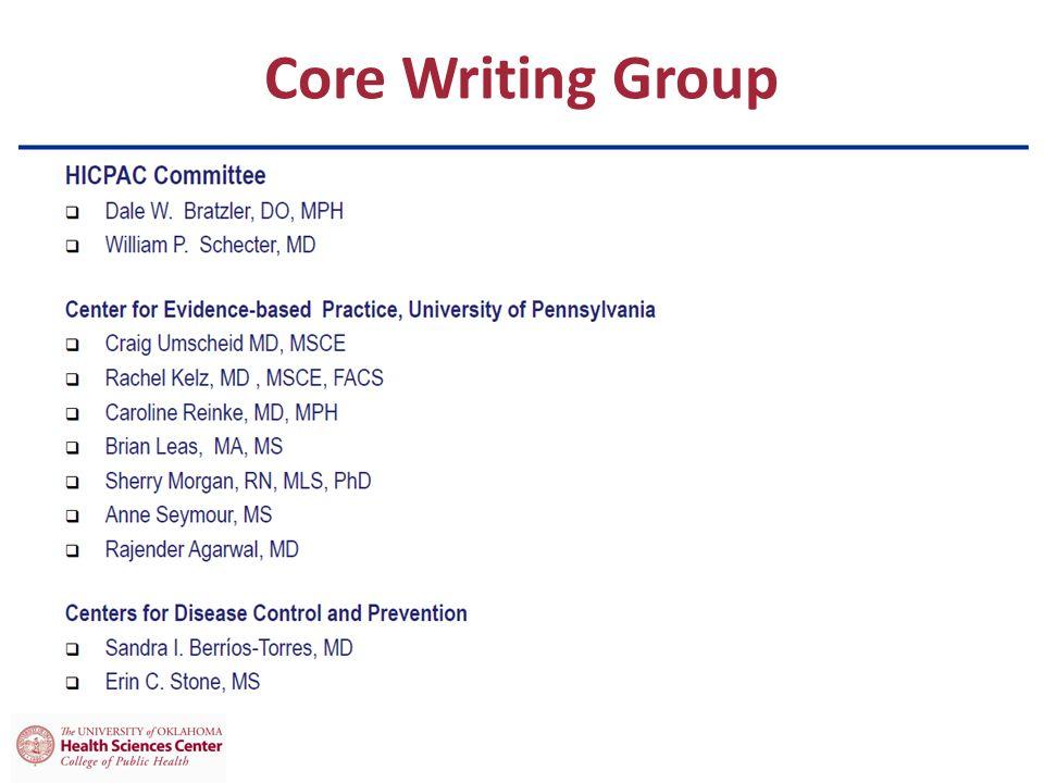 Core Writing Group