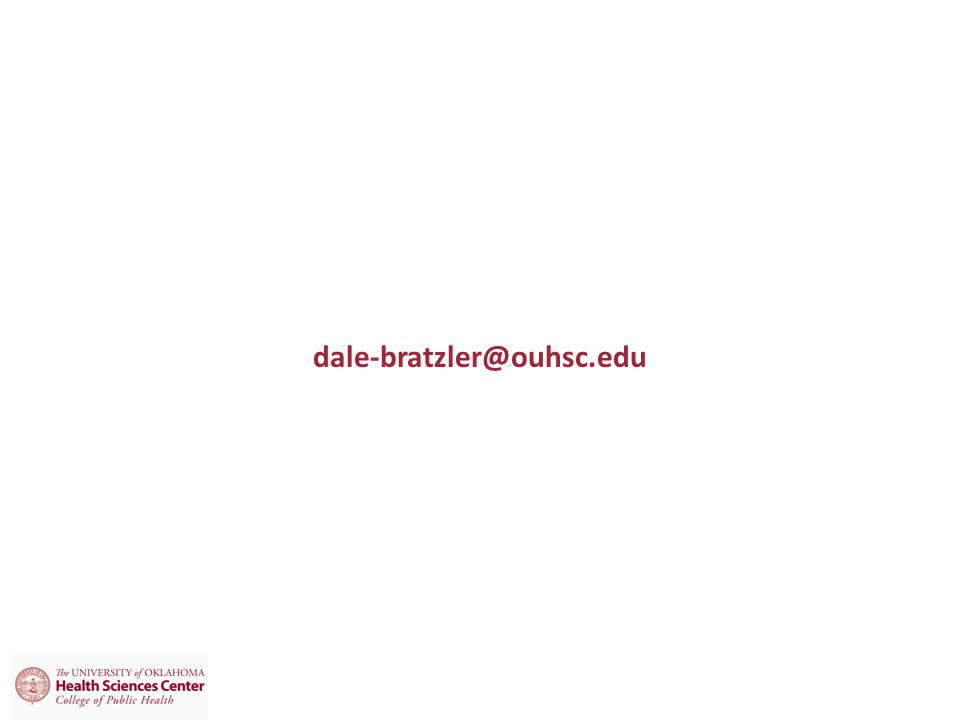 dale-bratzler@ouhsc.edu