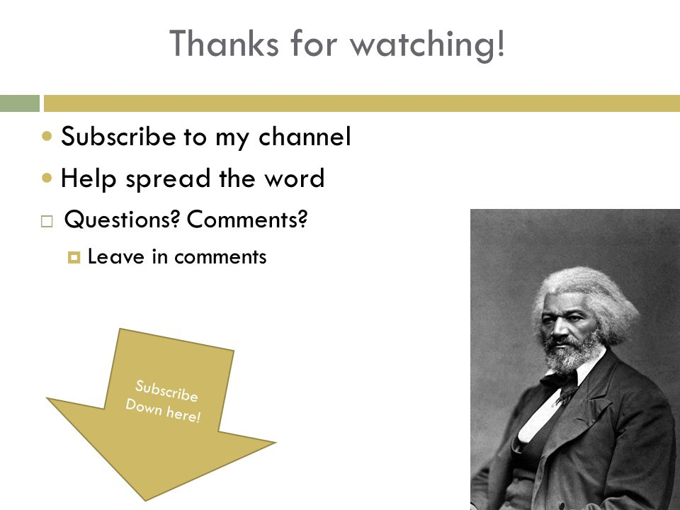 Thanks for watching! Subscribe to my channel Help spread the word  Questions? Comments?  Leave in comments Subscribe Down here!