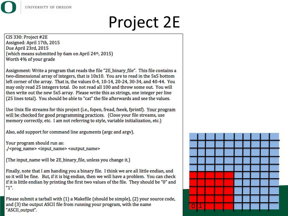 Project 2E 0 1