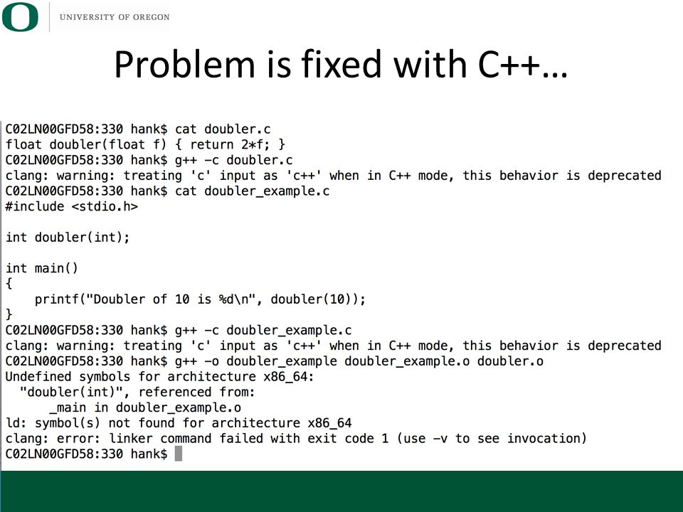 Problem is fixed with C++…
