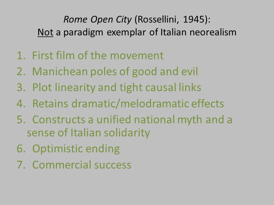 Rome Open City: Catholic undertones