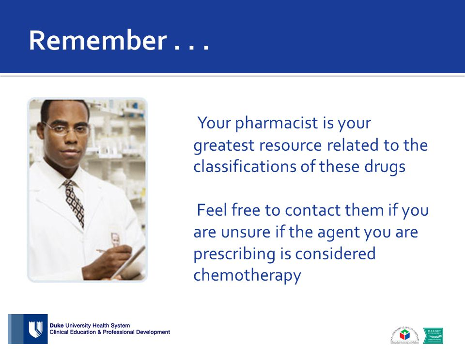 Your pharmacist is your greatest resource related to the classifications of these drugs Feel free to contact them if you are unsure if the agent you a